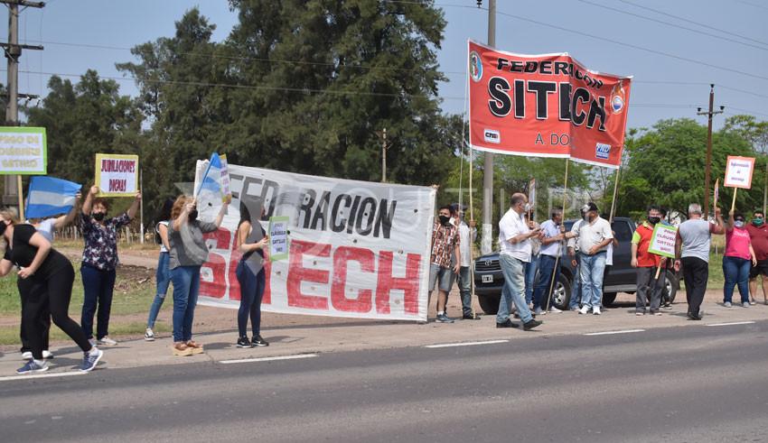 Descontento docente. Finalizada la XII marcha advirtieron que continuarán las protestas 7