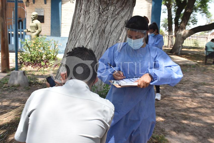 Más de cien hisopados, arrojó 20 nuevos casos positivos en Quitilipi 11