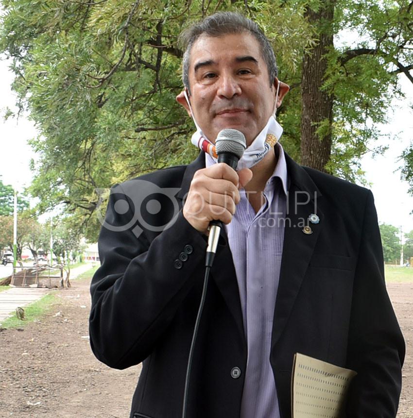 Paseo Benito Acosta. Rotary presentó la primera parte de una anhelada obra 14