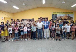 Fiesta del básquet comunitario. Categorías infantiles y formativas recibieron sus medallas 23