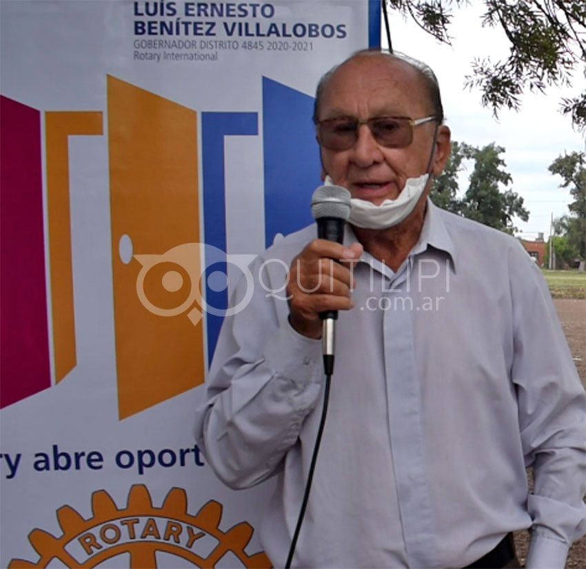 Paseo Benito Acosta. Rotary presentó la primera parte de una anhelada obra 13