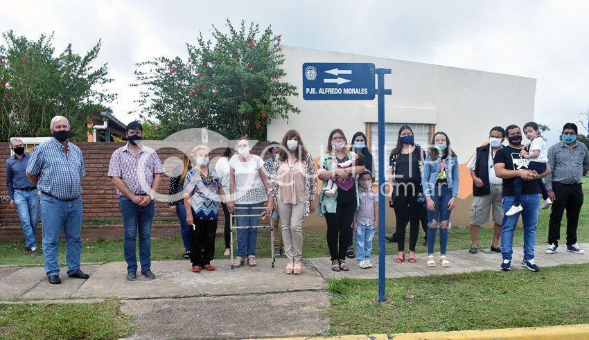 108 Aniversario de Quitilipi. Homenaje al ex concejal radical Alfredo Morales 8