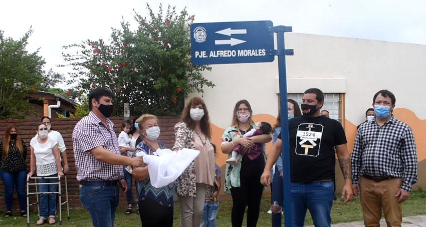108 Aniversario de Quitilipi. Homenaje al ex concejal radical Alfredo Morales 10
