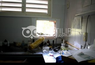 Roban un acondicionador de aire en el hospital de Quitilipi 18