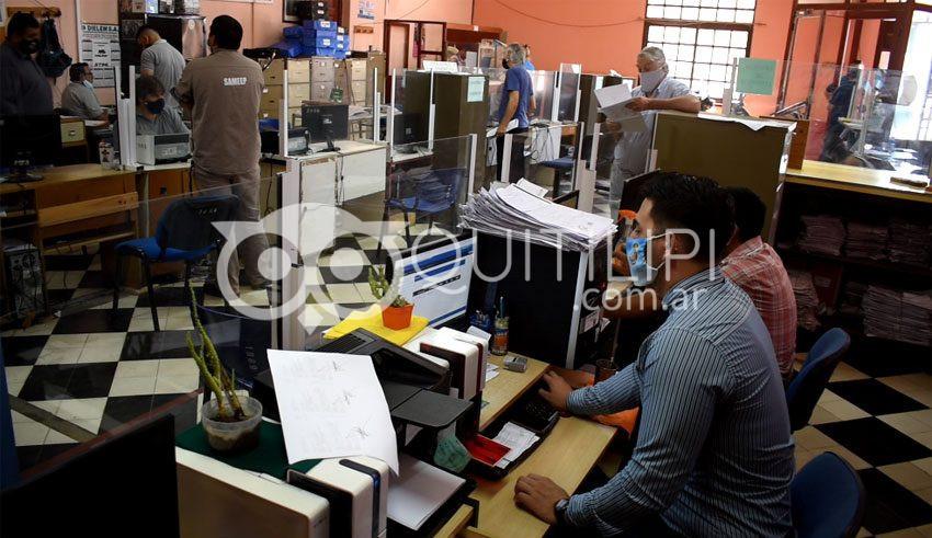 Municipalidad. La Dirección de Recaudación reorganizó su funcionamiento para una mejor atención 2