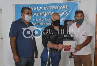 El IPRODICH entregó CUD en Quitilipi 14