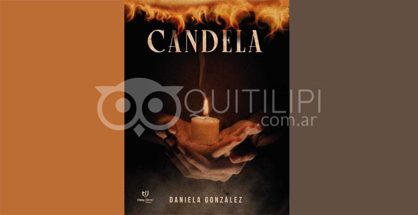 "Daniela González presentó su flamante obra ""Candela"" 8"