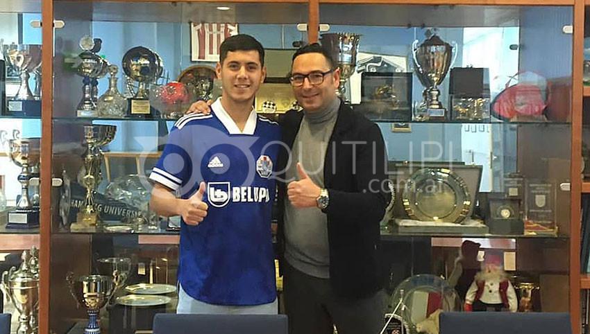 Gonzalo Julián Leyton: firmó para el NK Slaven Belupo Koprivnica de Croacia 5