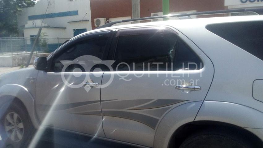 """Ruta 16. Piqueteros del """"20 de Junio"""" denunciados por atacar vehículo particular 5"""