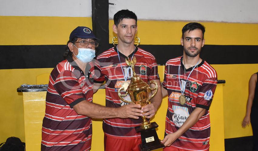 """Futsal. Amotinados se consagró Campeón de la 4º Copa """"Ciudad de la Amistad"""" 23"""