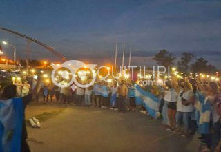 Docentes marcaron el séptimo día de protesta 24