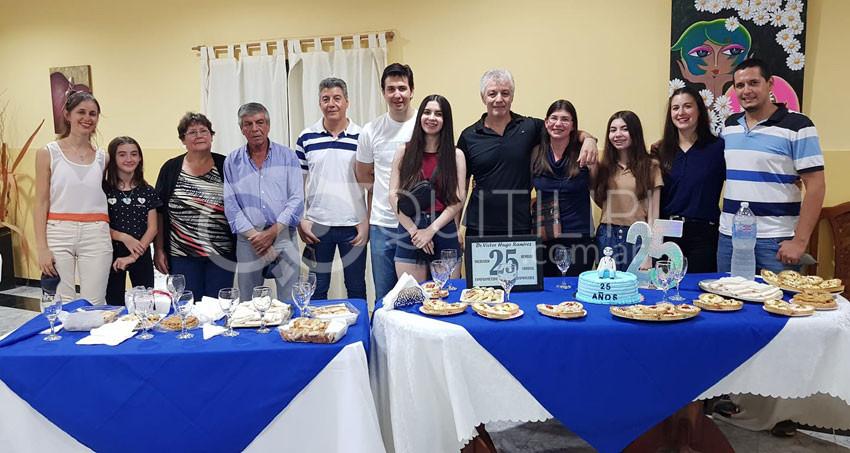 ALCEC, Quitilipi ofrendó un cálido homenaje al médico Víctor Hugo Ramírez 10