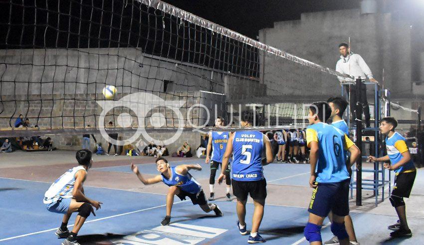 LQV. Sin público continúa el torneo local 5