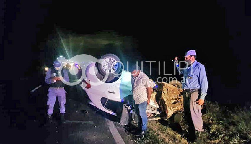 Un reconocido batero saenzpeñense murió tras volcar en la Ruta 16 9