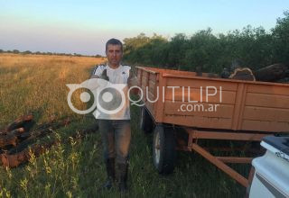 Le robaron un acoplado rural al ex concejal Sergio Kochowiec 27